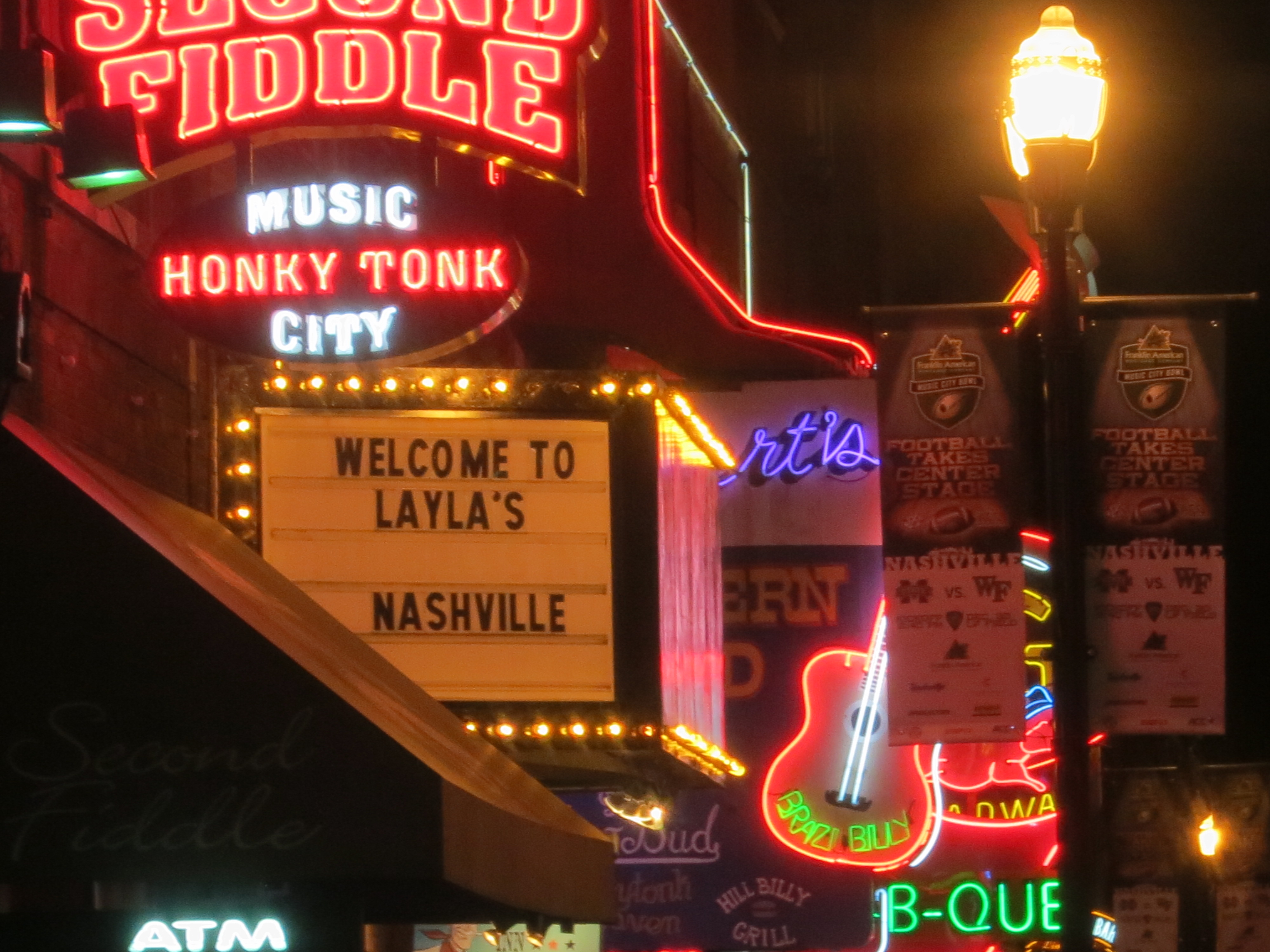 Nashville Live Marking Our Territory