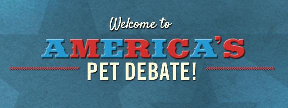 america's pet debate